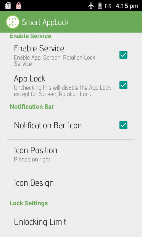 app lock application for android
