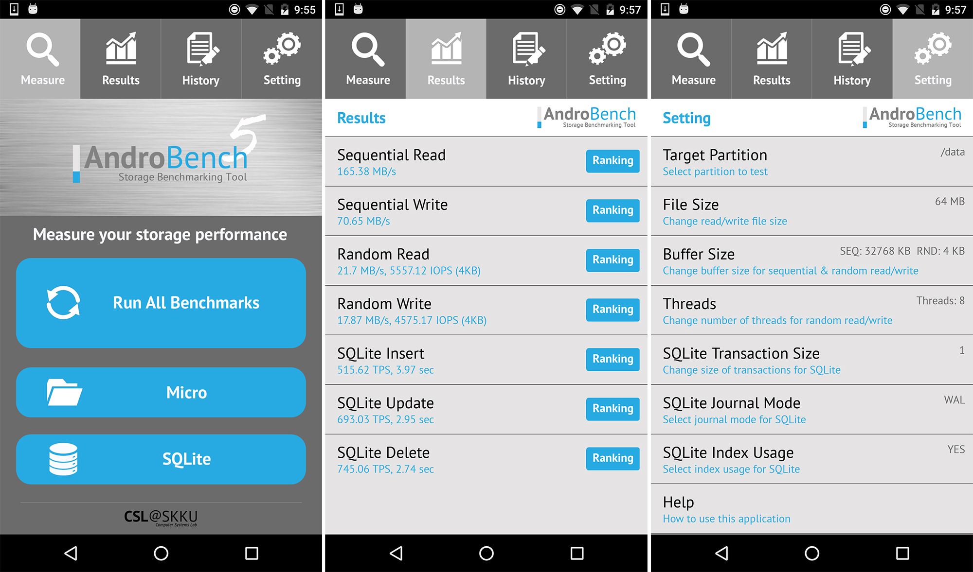 hardware interface for android application