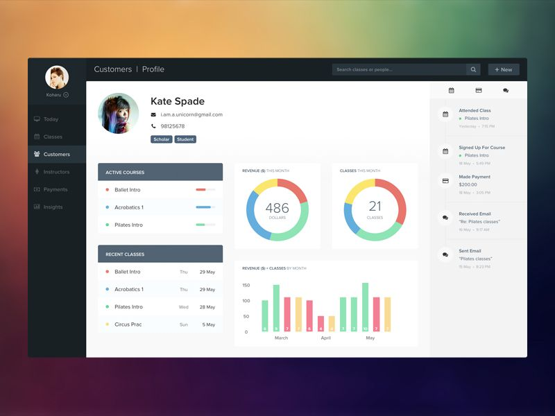 web application ideas for students
