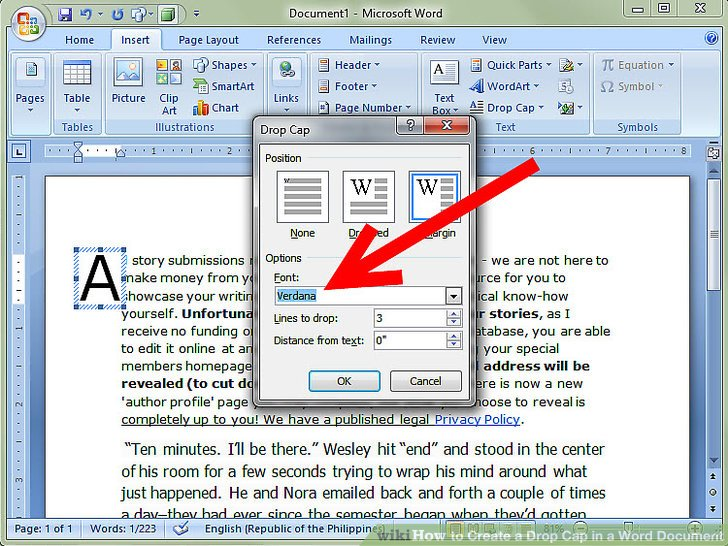 how to make application form in word