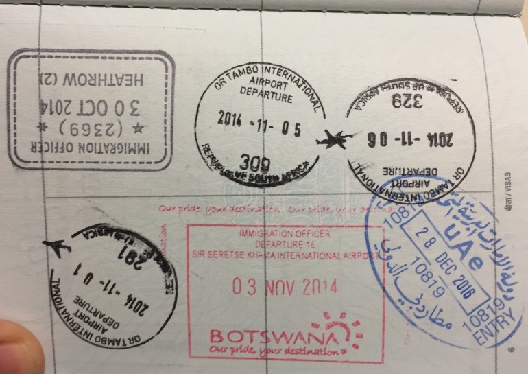 south african passport application in canada