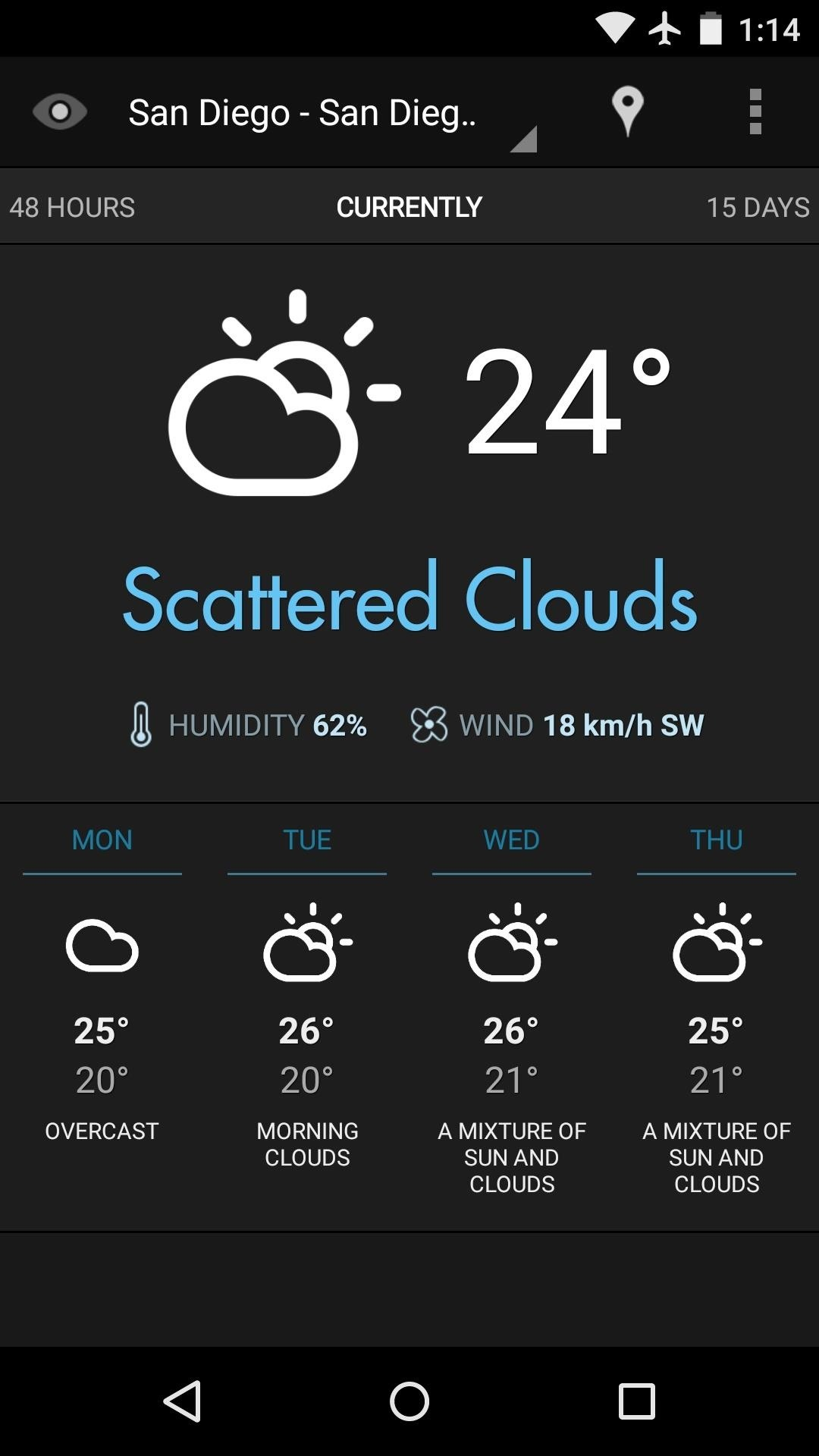 best weather application for android