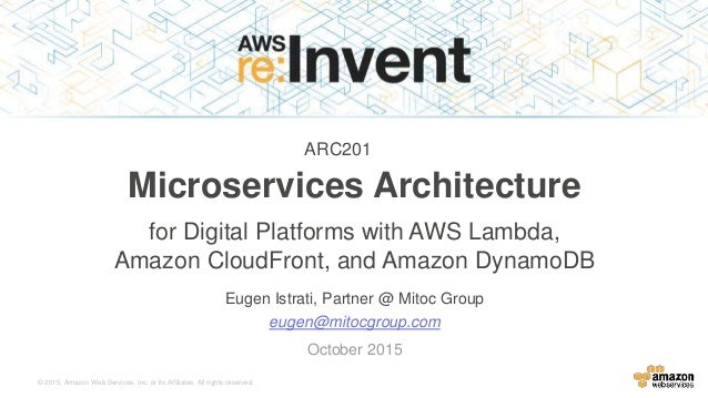 net microservices architecture for containerized net applications
