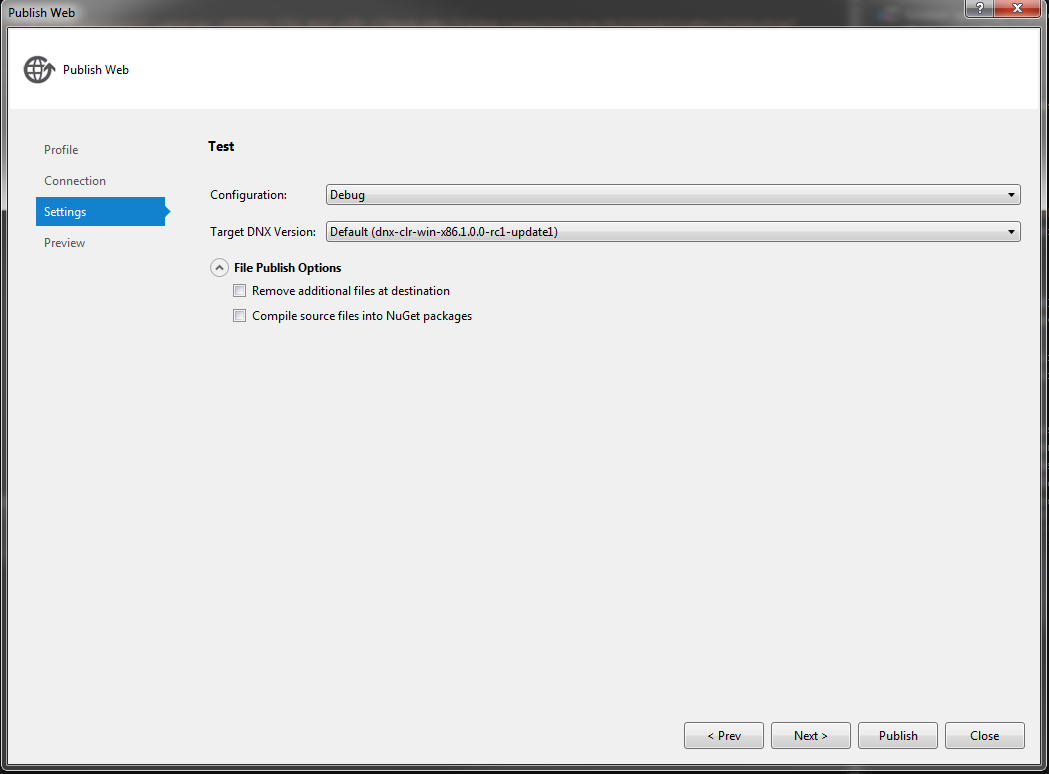 how to deploy asp net web application