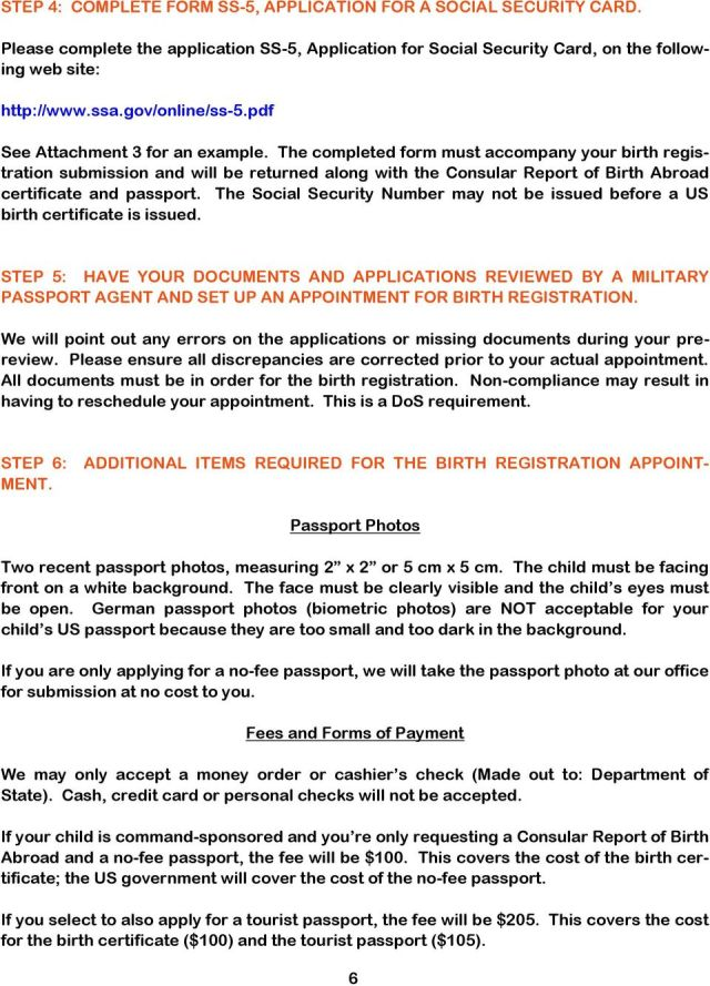 social security application ss 5